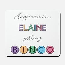 Elaine BINGO Mousepad
