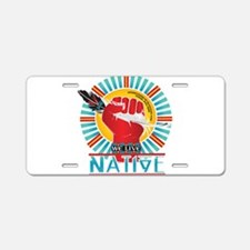 Funny American indian Aluminum License Plate