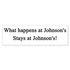 Big Johnson's Bumper Bumper Sticker