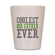 Coolest God Father Shot Glass