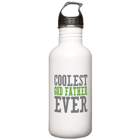 Coolest God Father Stainless Water Bottle 1.0L