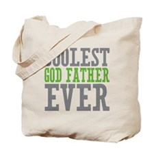 Coolest God Father Tote Bag