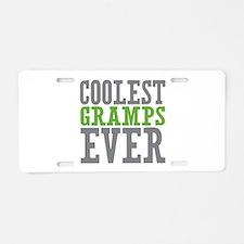 Coolest Gramps Aluminum License Plate