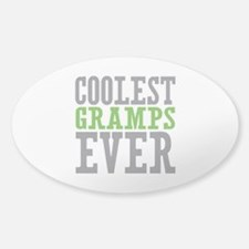 Coolest Gramps Sticker (Oval)