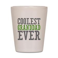 Coolest Granddad Shot Glass