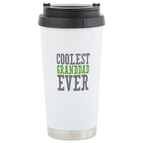 Coolest Granddad Stainless Steel Travel Mug