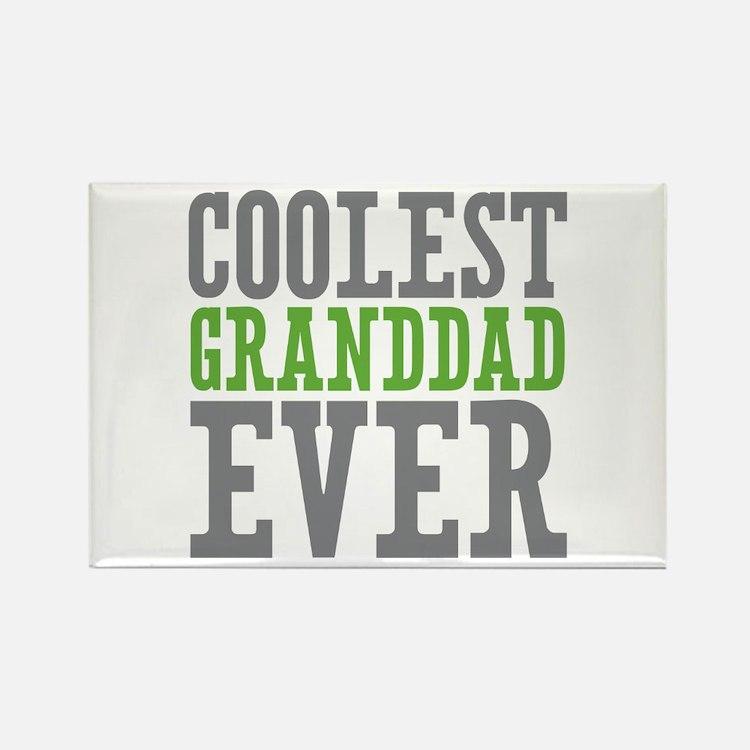Coolest Granddad Rectangle Magnet