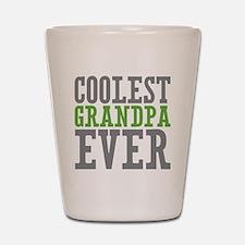 Coolest Granpda Shot Glass