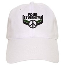 Four Twenty... Going Green! Baseball Cap
