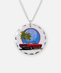 Mustang convertible Necklace