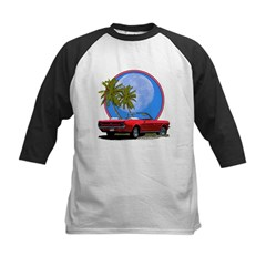 Mustang convertible Kids Baseball Jersey