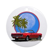 Mustang convertible Ornament (Round)