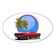 Mustang convertible Decal
