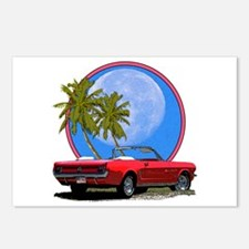 Mustang convertible Postcards (Package of 8)