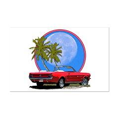 Mustang convertible Posters