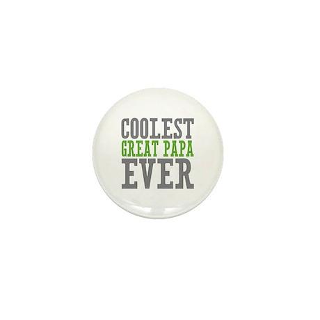 Coolest Great Papa Mini Button