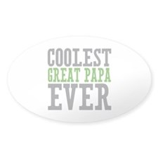 Coolest Great Papa Decal