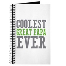 Coolest Great Papa Journal