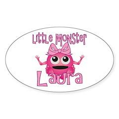 Little Monster Laura Decal