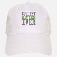 Coolest Great Uncle Baseball Baseball Cap