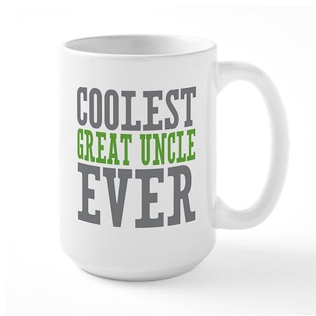 Coolest Great Uncle Large Mug