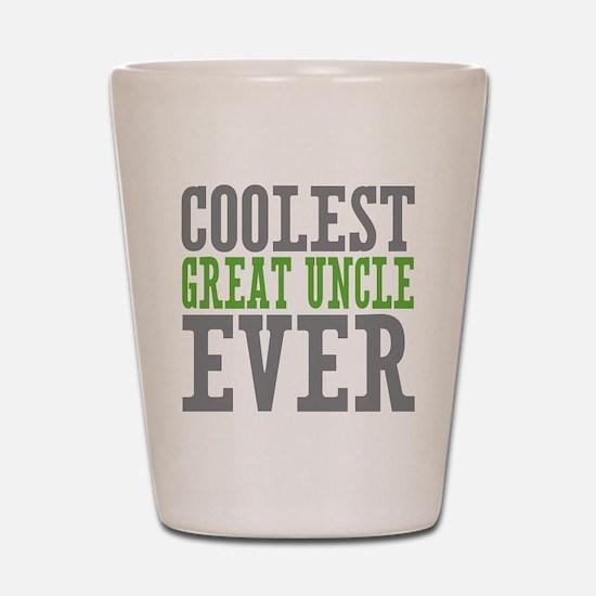 Coolest Great Uncle Shot Glass