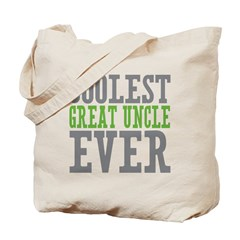 Coolest Great Uncle Tote Bag