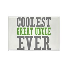 Coolest Great Uncle Rectangle Magnet (100 pack)