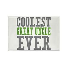 Coolest Great Uncle Rectangle Magnet