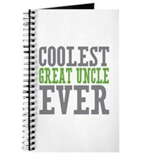 Coolest Great Uncle Journal