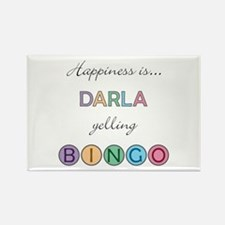 Darla BINGO Rectangle Magnet
