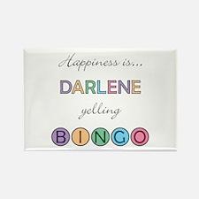 Darlene BINGO Rectangle Magnet