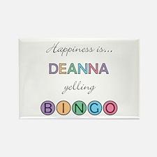 Deanna BINGO Rectangle Magnet
