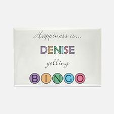 Denise BINGO Rectangle Magnet