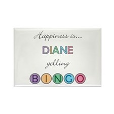 Diane BINGO Rectangle Magnet