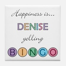 Denise BINGO Tile Coaster