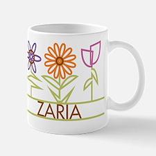 Zaria with cute flowers Mug