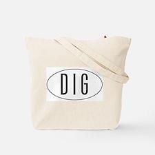 Archaeology Goddess Tote Bag