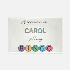 Carol BINGO Rectangle Magnet