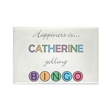 Catherine BINGO Rectangle Magnet