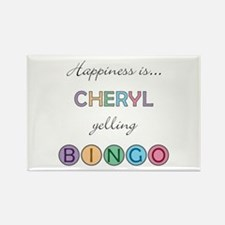 Cheryl BINGO Rectangle Magnet