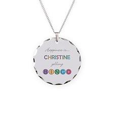 Christine BINGO Necklace
