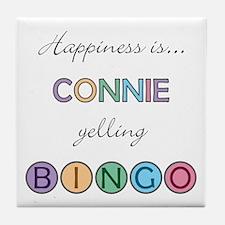 Connie BINGO Tile Coaster