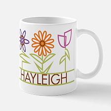 Hayleigh with cute flowers Mug