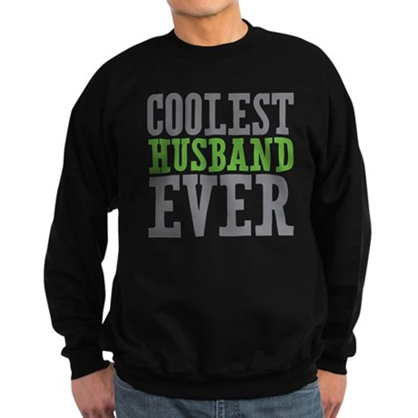 Coolest Husband Sweatshirt (dark)