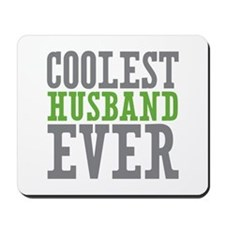 Coolest Husband Mousepad