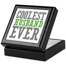 Coolest Husband Keepsake Box
