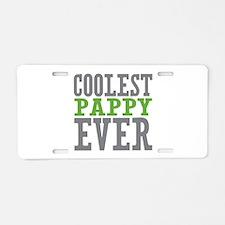 Coolest Pappy Aluminum License Plate