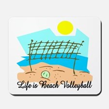 Beach Volleyball Mousepad