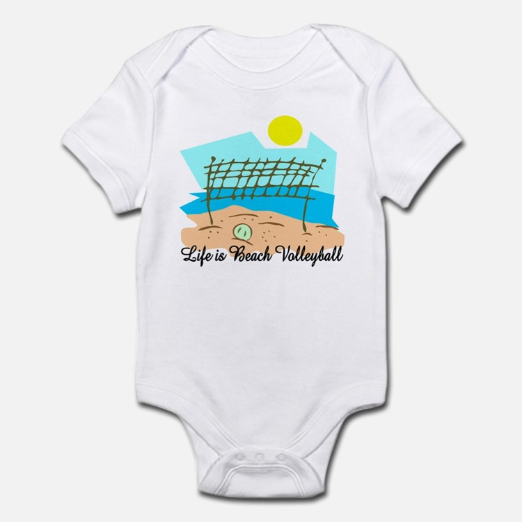Beach Volleyball Infant Creeper